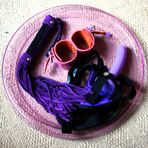 Sinful Sunday: Tray containing sex toys