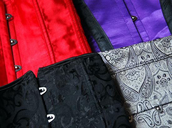 Four corsets