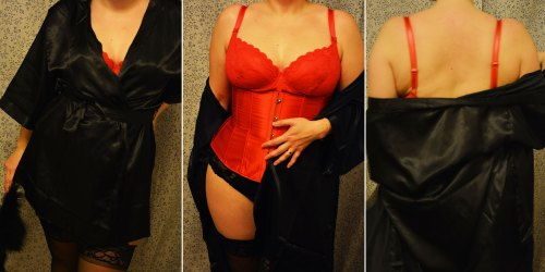 Burlesque triptych 1