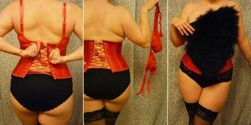 Burlesque triptych 2